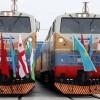Россия приняла первый поезд с экспортным грузом из Турции