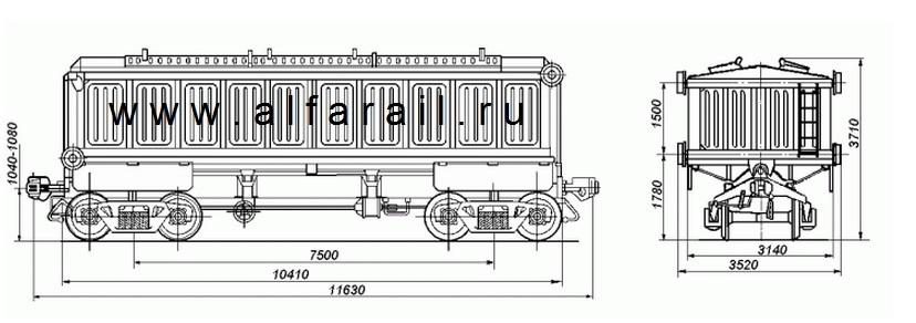 схема  вагона 10-475