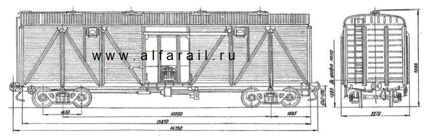 схема крытого вагона 11-066-08