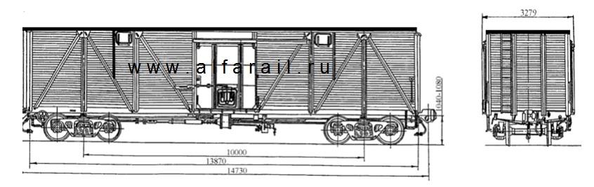 схема крытого вагона 11-066-12