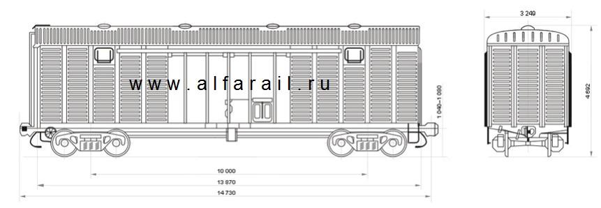 схема крытого вагона 11-217-12